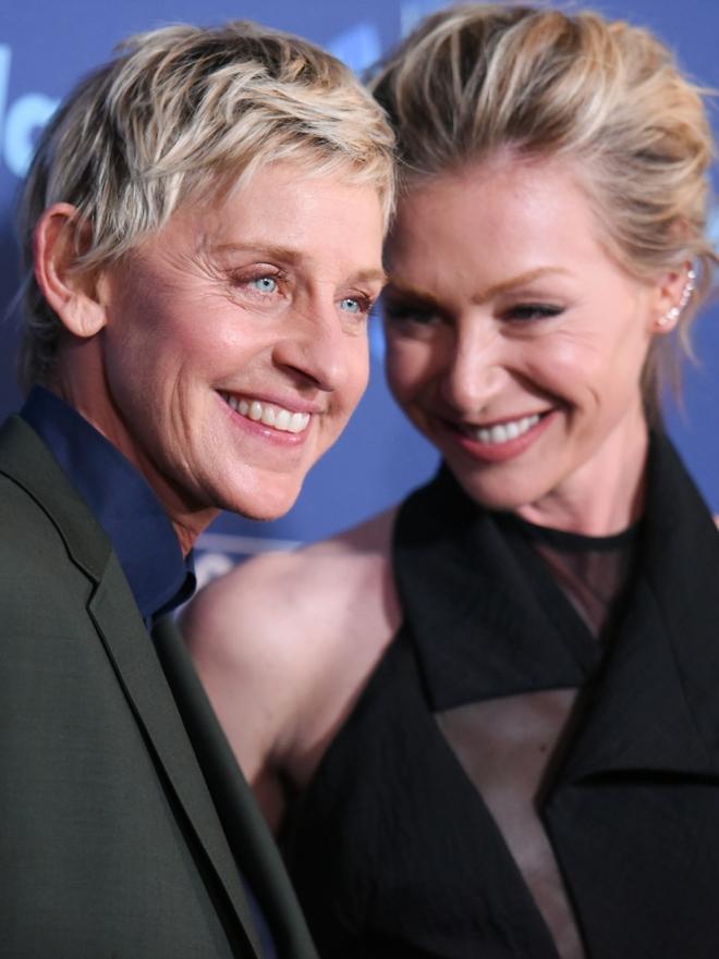 La historia de amor de Ellen DeGeneres y Portia De Rossi