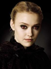 El estilo de Dakota Fanning, los ojos del mal de Crepúsculo
