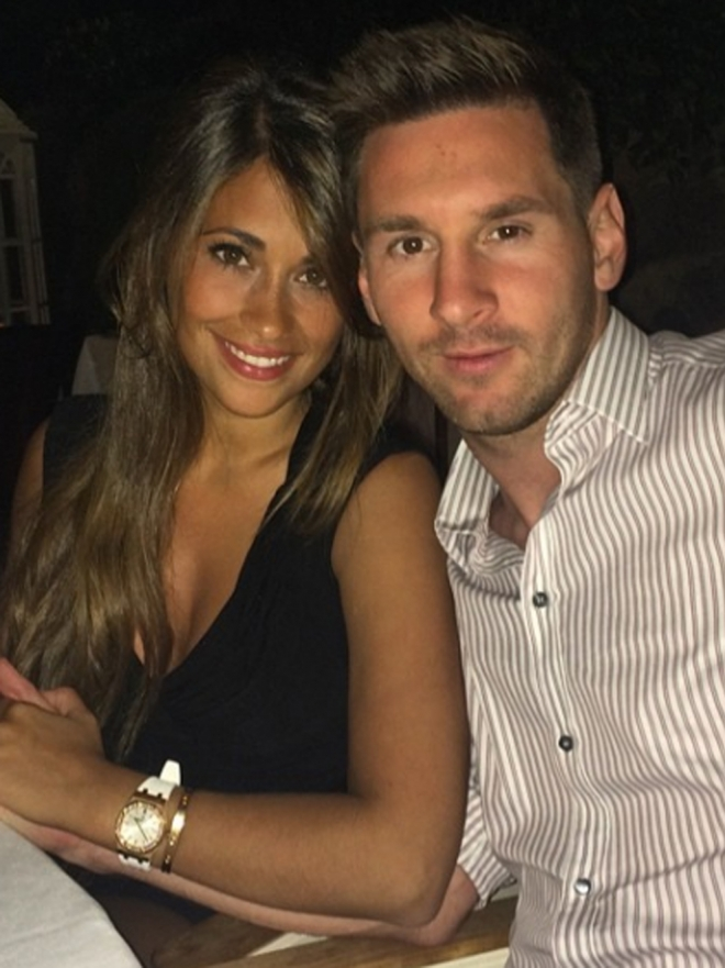 Messi y Antonella Rocuzzo, una historia de amor muy futbolera