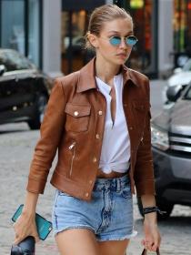 Luce piernas con el look de Gigi Hadid