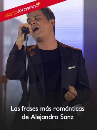 Las mejores frases de amor de las canciones de Alejandro Sanz