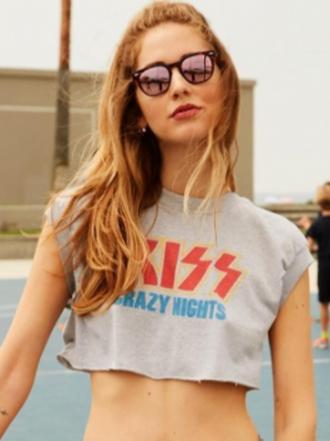 Chiara Ferragni y sus 'rock-band' looks