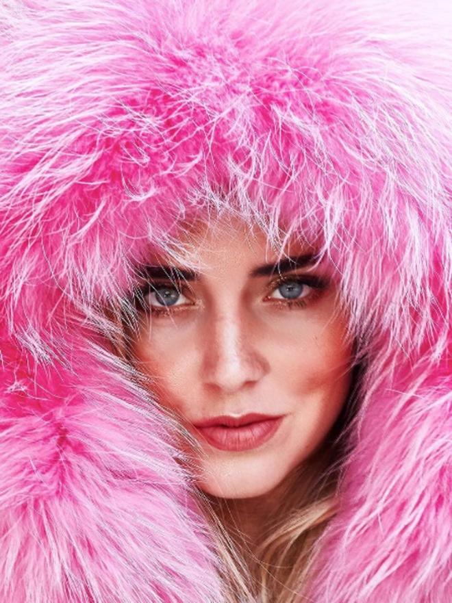 Chiara Ferragni: Abrigos de pelo para un look 10