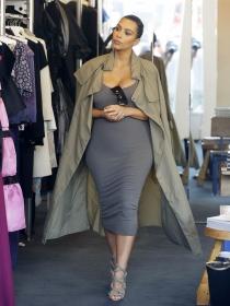 Kim Kardashian y otras famosas adictas a las compras