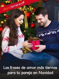 Las frases de amor más románticas para tu pareja en Navidad