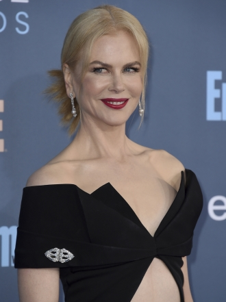 Critics' Choice Awards 2016: Nicole Kidman y otras famosas