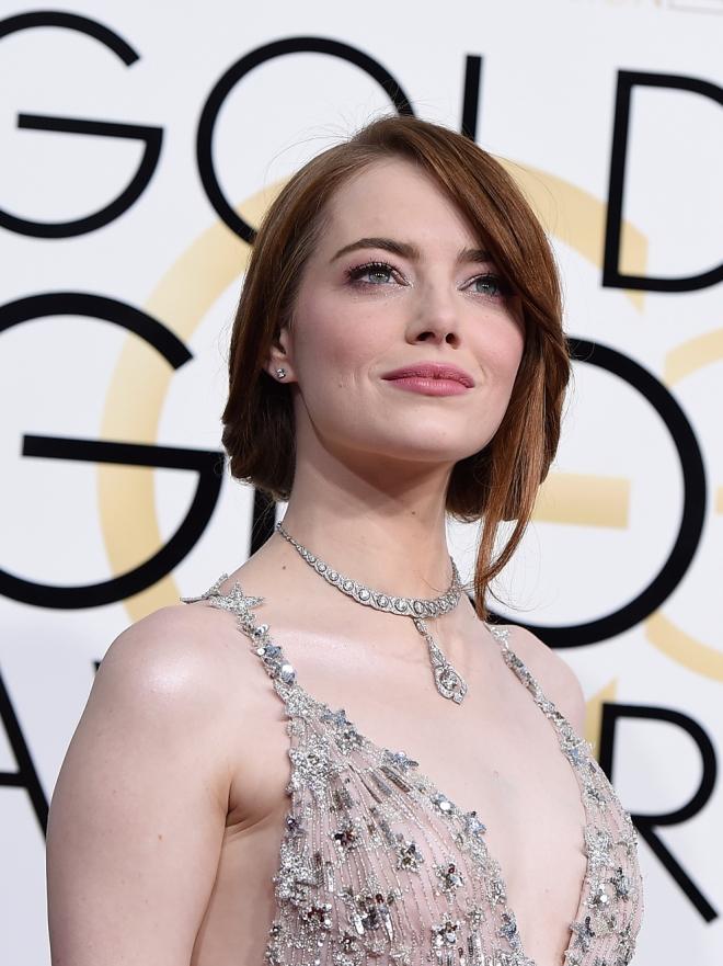 Globos de Oro 2017: Emma Stone y las famosas mejor vestidas