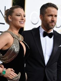 Blake Lively y Ryan Reynolds y otras parejas de los Globos de Oro 2017