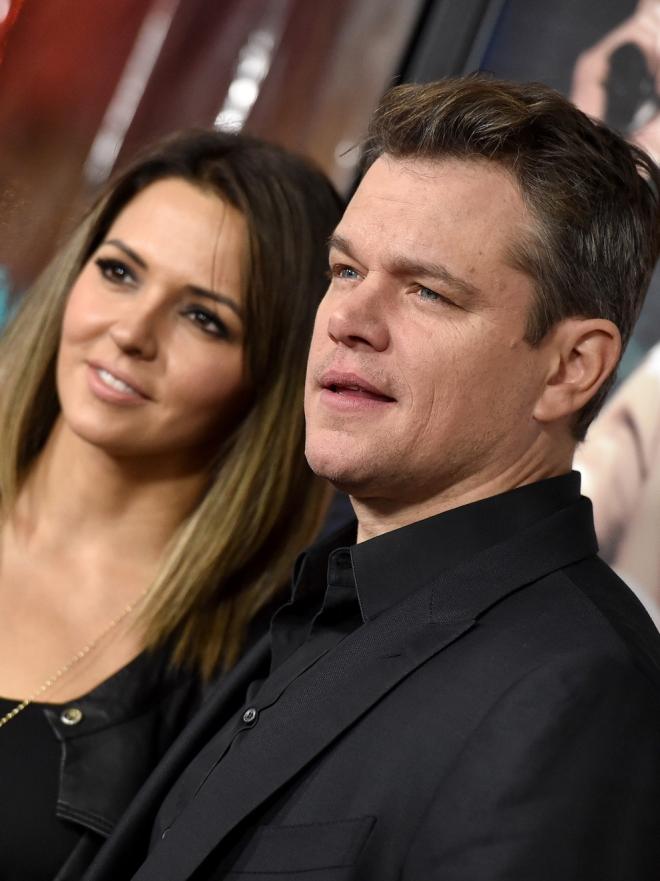 Matt Damon y Luciana Barroso, un amor discreto y duradero