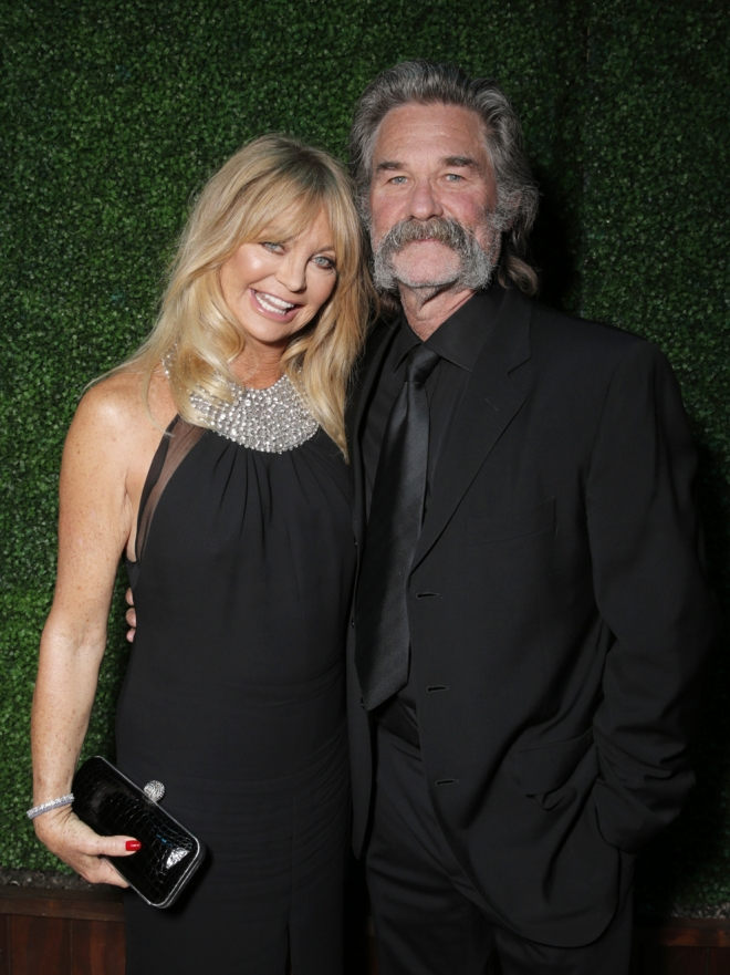 La feliz historia de amor de Goldie Hawn y Kurt Russell