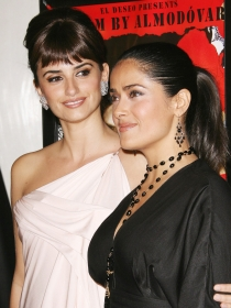 La bonita amistad de Salma Hayek y Penélope Cruz