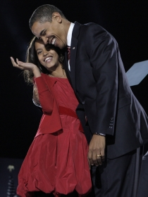 Las mejores fotos de Malia, la niña de los ojos de Obama