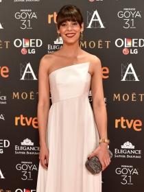 Vestidos blancos en los Goya 2017: las 'novias' del cine español