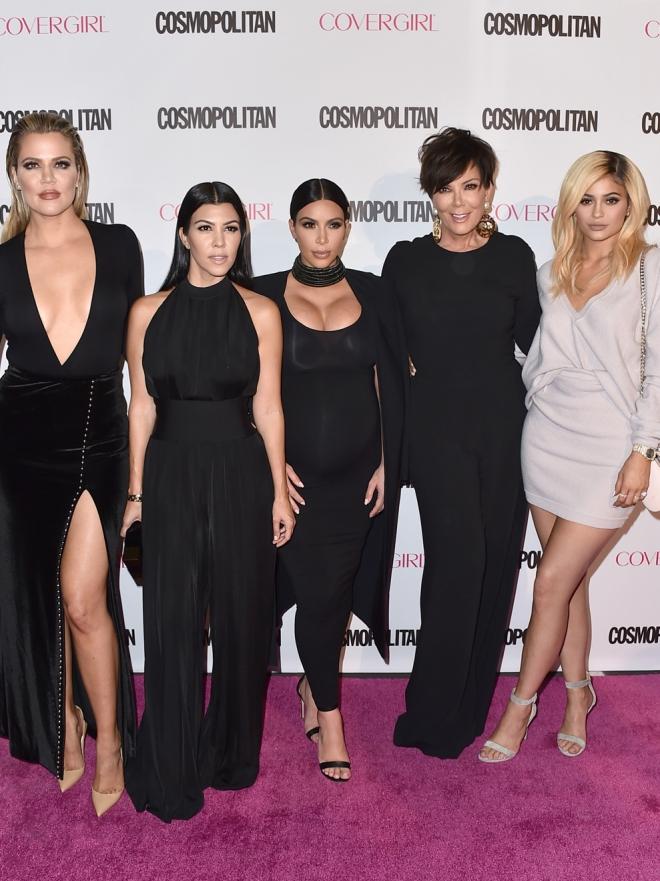 Famosas que se inspiran en los looks de las Kardashian