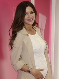 Las fotos más tiernas de Malena Costa embarazada