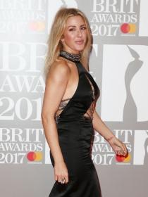 Ellie Goulding y las mejor vestidas de la red carpet de los Brit 2017