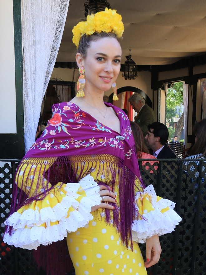 Feria de Abril 2017: las famosas se visten de flamencas