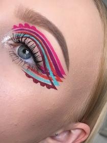 Los eyeliner de fantasía que son tendencia en Instagram