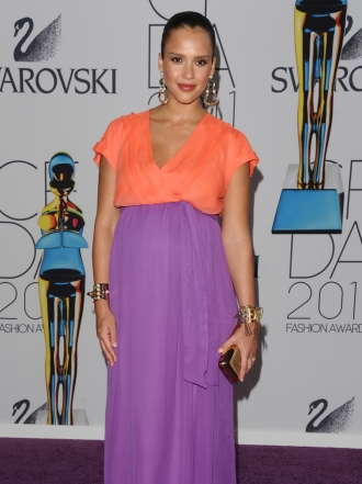 Jessica Alba, sus mejores looks de embarazada