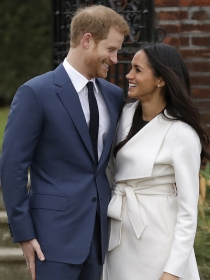 La romántica historia de amor de Meghan Markle y el príncipe Harry foto a foto