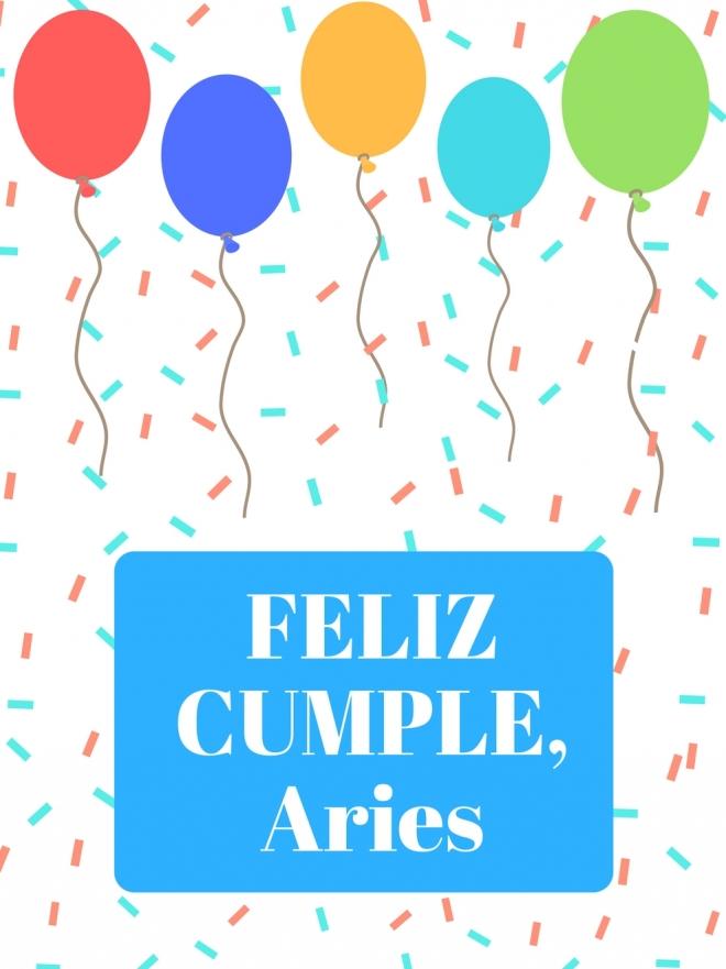 Las mejores tarjetas de felicitación para Aries: ¡Feliz cumpleaños!