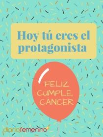 Tarjetas de felicitación especiales para Cáncer en su cumpleaños
