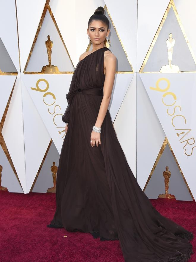 Zendaya y Jennifer Lawrence: Las mejor vestidas de los Oscars 2018