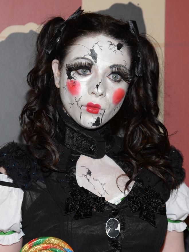 Maquillaje seductor para Halloween