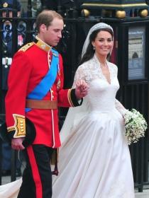 Fotos de Guillermo de Inglaterra y Kate Middleton el día de su boda