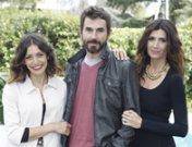 Los guapos Santi Millán, Ruth Núñez y Elia Galera, más 'Frágiles' que nunca