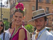 Fran Rivera, Laura Sánchez... los famosos en el Rocío 2013