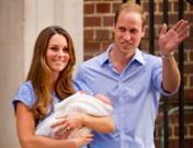 El primer hijo de Kate Middleton y el Príncipe Guillermo: fotos de una familia feliz