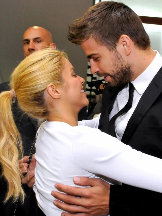 Shakira y Piqué, fotografiada y feliz historia de amor