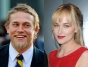 Los actores de 50 Sombras de Grey: Charlie Hunnam y Dakota Johnson