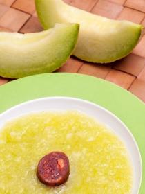 RECETA: Gazpacho de melón y lima