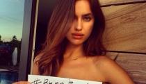 El desnudo más inoportuno de Irina Shayk