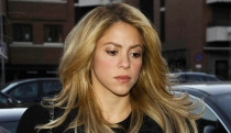 Shakira llora el adiós de Colombia y James Rodríguez al Mundial 2014