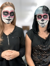 Maquillaje de Halloween: consigue la catrina mexicana de Thalía