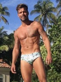 Ricky Martin, David Beckham y otros papás famosos sexys