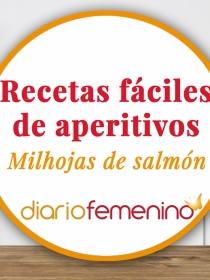 Recetas de aperitivos fáciles: cómo hacer un rico milhojas de salmón