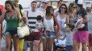 Messi y su novia Antonella Roccuzzo lo pasan bien en Ibiza