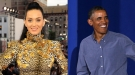 Katy Perry, ¿retuitea o pelotea a Barack Obama?