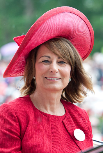 La madre de Kate, Carole Middleton