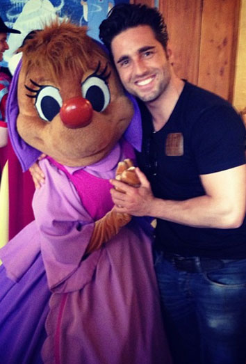 Disneyland David Bustamante.