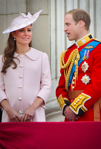 Kate Middleton y Guillermo de Inglaterra