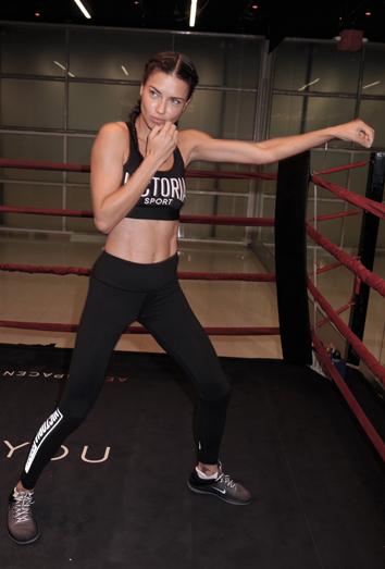 6 beneficios de practicar Kick boxing como Adriana Lima