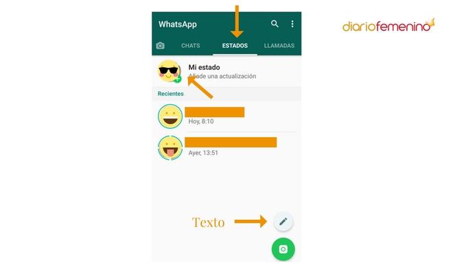 Cómo Cambiar La Letra De Tus Estados De Whatsapp El Truco