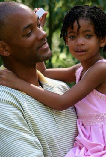 Las cartas de amor Willow Smith a su padre Will Smith