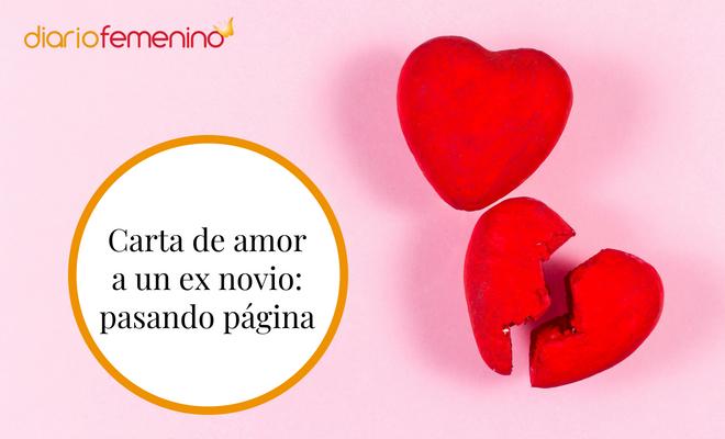 Carta De Amor A Un Ex Novio Pasando Página