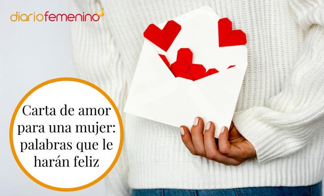 Carta De Amor Para Una Mujer Palabras Que Le Harán Feliz